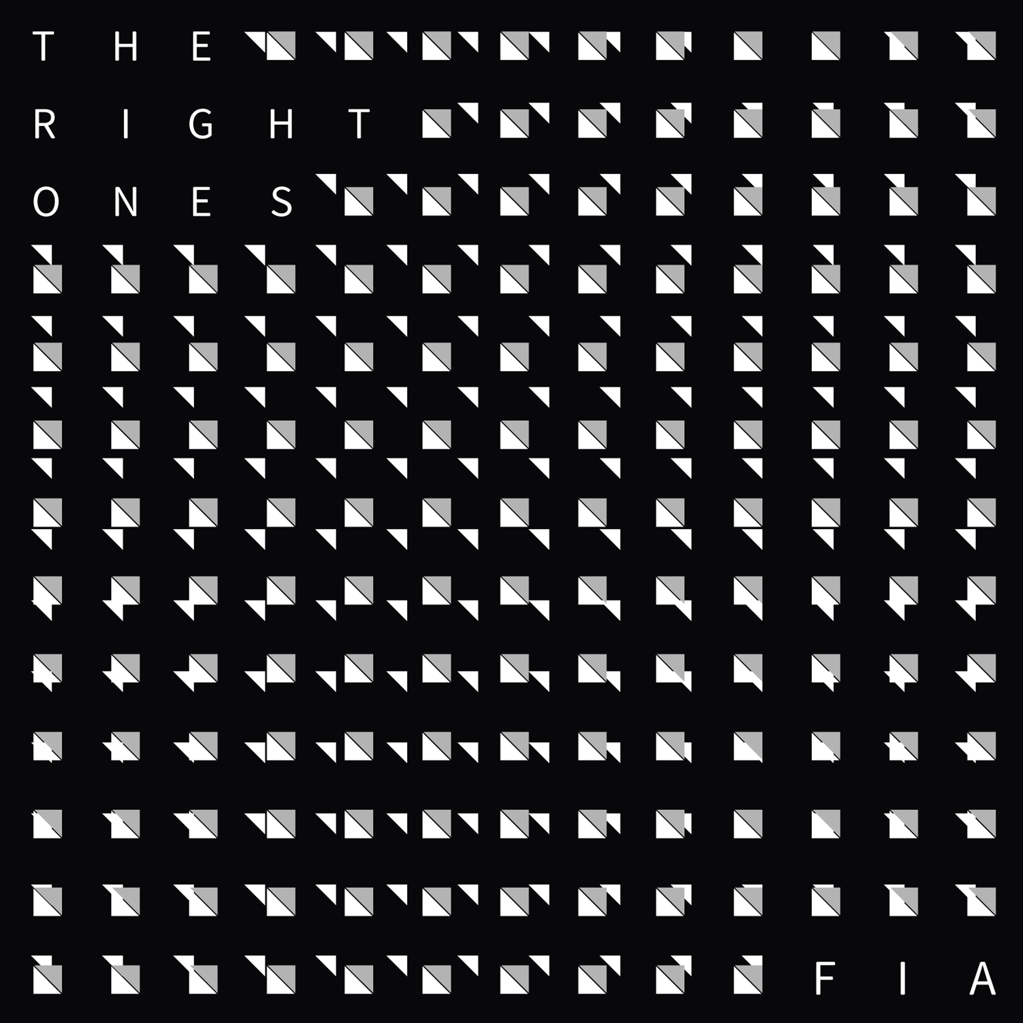 The Right Ones Single cover