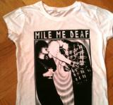 Mile Me Deaf | T-shirt white